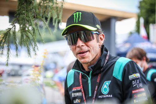 """Der """"Doctor"""" Valentino Rossi dreht seine letzten Runden in Spielberg.Gepa"""