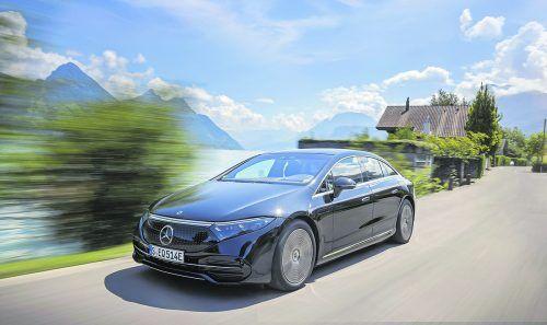Der EQS ist das erste Elektrofahrzeug von Mercedes, das auf einer eigens dafür entwickelten Plattform basiert.Werk