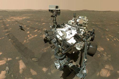 Der Marsrover war im Februar im Jezero-Krater auf dem Mars gelandet. AP