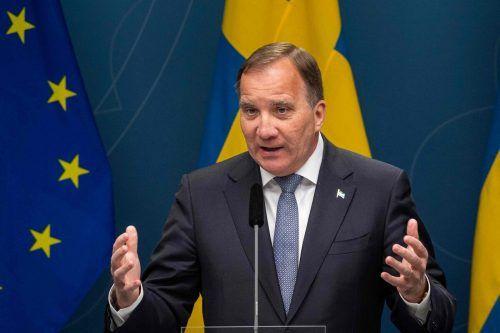 Der schwedische Premier Stefan Löfven kündigte an, sich nach sieben Jahren an der Spitze der Regierung in diesem Herbst zurückzuziehen. AFP