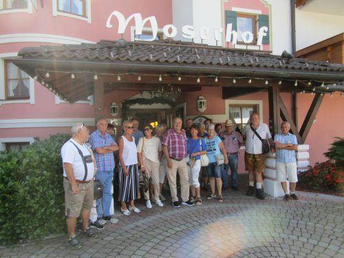 Der Seniorenring OG Feldkirch in Elbingenalp, bekannt durch die Geierwally. Verein
