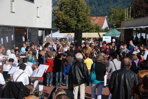 Der Wolfurter Herbstmarkt, ein Besuchermagnet weit über die Gemeindegrenzen, muss heuer wegen Corona nochmals entfallen.hapf