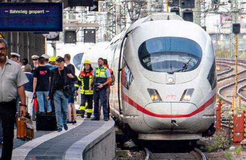 Deutsche ICE-Züge verkehren in Österreich planmäßig.APA