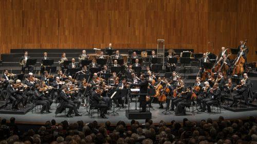 Die Berliner Philharmoniker und der in Vorarlberg bestens bekannte Kirill Petrenko sind ein Gespann von Rang und Namen. SF/Marco Borrelli