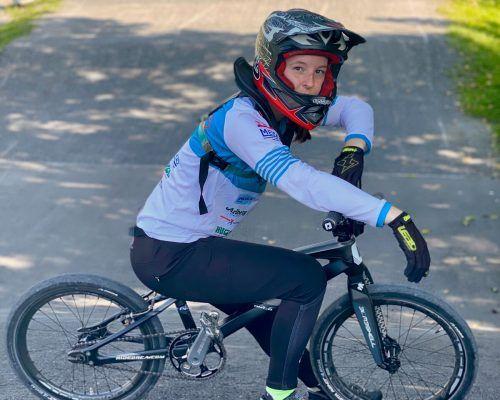 Die Bludenzer BMXlerin Hannah Muther befindet sich aktuell in Hochform.Verein