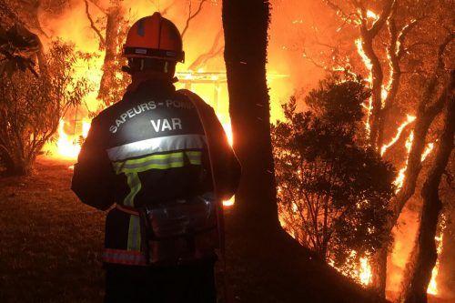 Die Brände seien aktuell noch nicht unter Kontrolle. AP