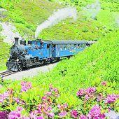 """<p class=""""caption"""">Die Dampfbahn Furka-Bergstrecke lässt die goldenen Zeiten der Dampfeisenbahn in der Schweiz aufleben.Urs W. Züllig</p>"""