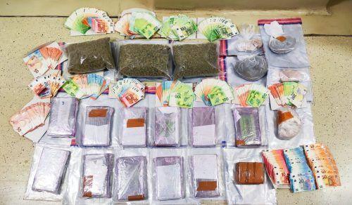 Die Drogen haben einen Straßenverkaufswert von rund vier Millionen Euro. APA