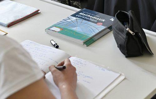 Die Fächer mit der größten Nachfrage: Mathematik, Deutsch, Englisch.APA
