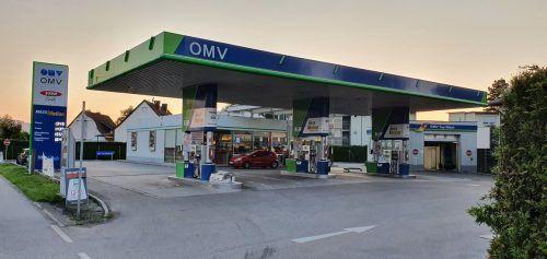 Die OMV in Hard wurde am Mittwoch überfallen. VN/MIP