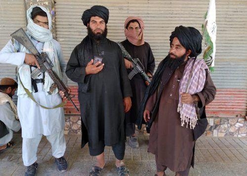 Die Provinzhauptstadt Farah wurde bereits von den Taliban erobert. Laut US-Geheimdienst könnte auch Kabul bald fallen. AP