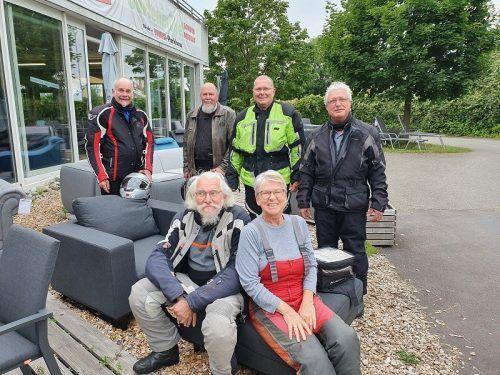 Die PVÖ-Motorradfahrer machten eine Schwarzwaldtour. PVÖ