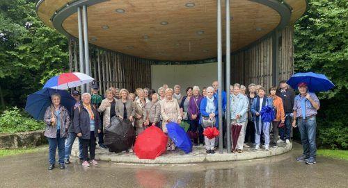 Die Seniorenring-Mitglieder machten einen Ausflug nach Hohenweiler zum Kloster Mariastern zu Gwiggen.Seniorenring
