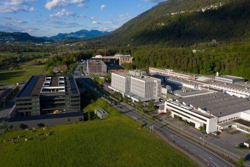 Die Wirtschaft in Liechtenstein (Bild: Hilti) erholt sich weiter.VB/MZ