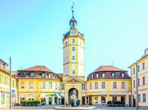 Durchs Herrenrieder Tor gelangt man direkt in die Ansbacher Altstadt.Shutterstock (8)