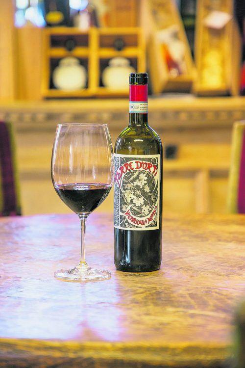 Ein ausgezeichneter Rotwein aus dem Veneto.VN/Philipp Steurer
