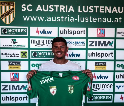 Ein klingender Name für Austria Lustenau: Adriel Tadeu Ferreira Da Silva.SCA