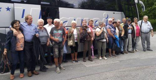 Ein schöner Ausflug der Pensionisten in Tirol.PVÖ
