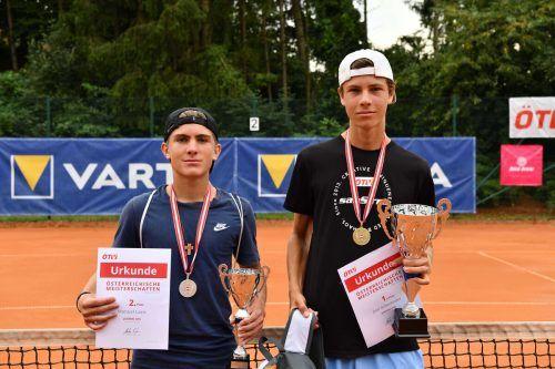 Eine Goldene durfte sich Joel Schwärzler bei den Jugendmeisterschaften umhängen.
