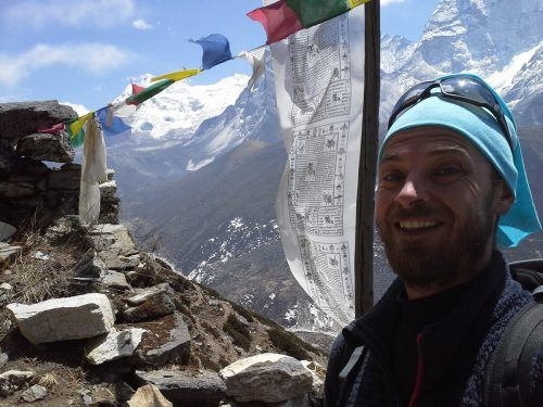 Eugen Fulterer als Schauspieler in Nepal.Magma/Fulterer