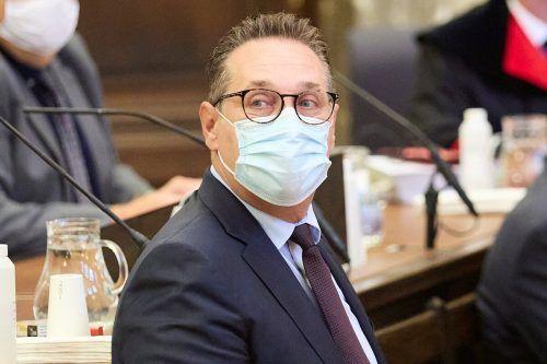 Ex-FPÖ-Chef vor Gericht: Ein Urteil wird für Freitag erwartet. Reuters