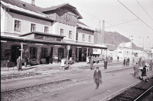 Feldkirch, Bahnhof, 1964