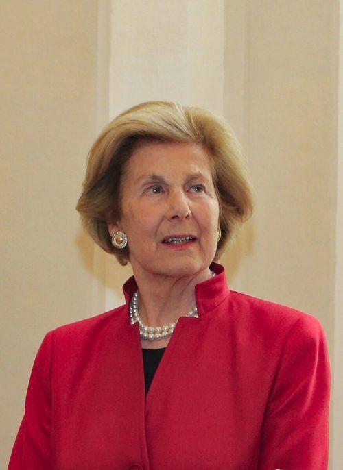 Fürstin Marie von und zu Liechtenstein (1940–2021).AFP