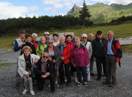 Für die 25 Altacher Senioren ging es beim letzten Monatsausflug auf den Sonnenkopf auf einen kleinen Rundgang. Seniorenbund Altach