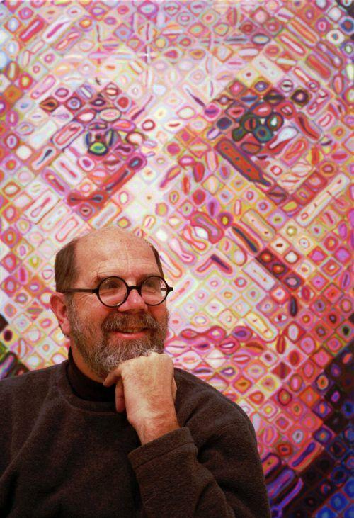 Für seine überdimensionalen Porträts war Chuck Close weltbekannt. AP