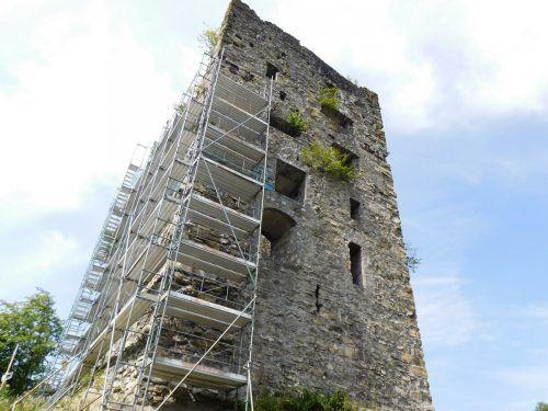 Für Sicherung und Erhalt der Burganlage werden weitere Sanierungsetappen erforderlich sein. Das Konzept einer Generalsanierung wird weiterverfolgt.