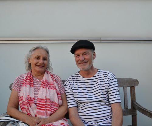 Gäste-Duo: Silvia Walch und Michael Herbert.