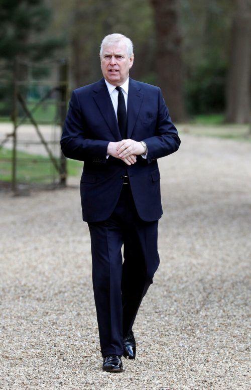 Gegen Prinz Andrew wurde eine Klage wegen sexuellen Missbrauchs eingereicht. RTS