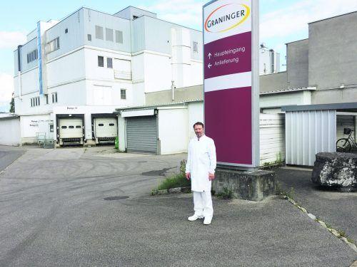 Georg Graninger bringt derzeit das Werk in Frastanz auf neuesten Stand und hat große Pläne am neuen Standort.VN/sca