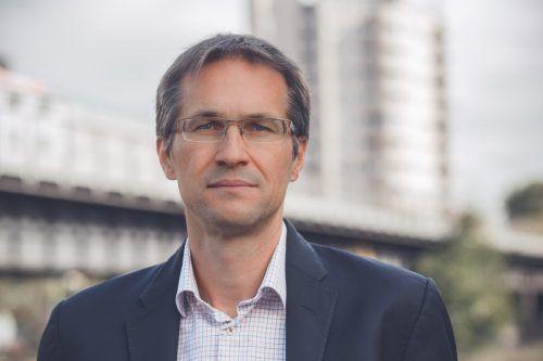 Gerald Knaus ist Experte für Migrationspolitik.Stadtbibliothek