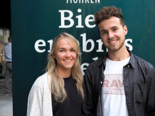 Geschwisterpaar und Outdoor-Enthusiasten Annika und Dominik Waldner.