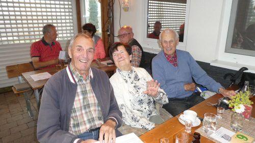 Geselliges Grillfest im Fesslerhof/Eichenberg. Seniorenbund Lochau