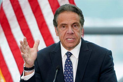 Gouverneur Andrew Cuomo weist die Anschuldigungen weiter zurück. Reuters