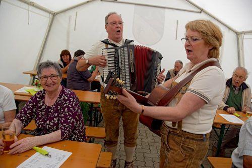 Grillfest der Bludenzer Pensionisten.Ludwig weg, PVÖ BLudenz