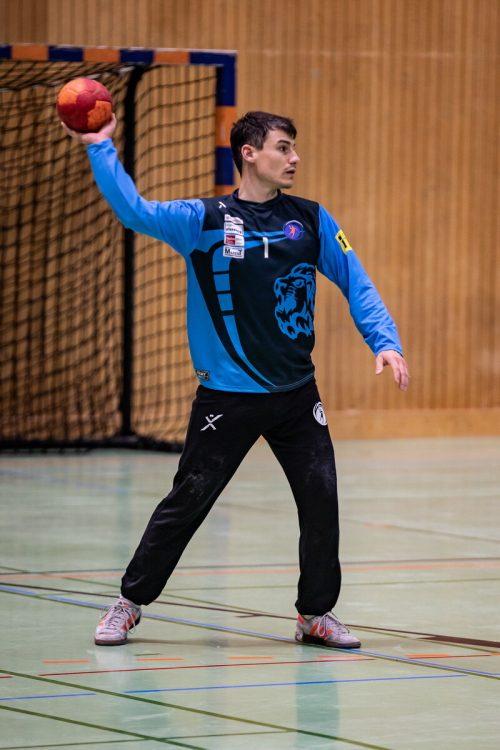 HcB-Lauterach-Goalie und Routinier Reinhard Kohler.Verein