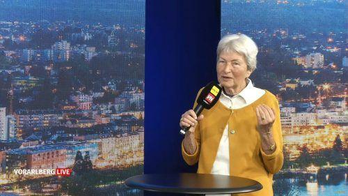 Hildegard Breiner war am Montag zu Gast bei Vorarlberg live. Die 85-jährige Bregenzerin hat ihre Kampfkraft nicht verloren.Vorarlberg Live