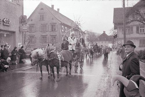 Höchst, Faschingsumzug, 1970