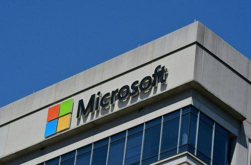 Im Microsoft-Headquarter hadert man mit Auftragsvergabe.afp