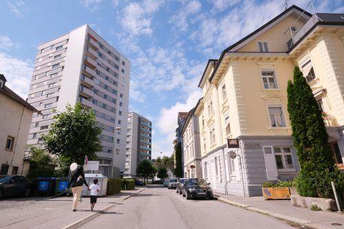 Intensive Planungen zur Gestaltung des Weiherviertels in Bregenz.