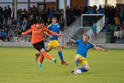 In Gaißau waren alle Fußballfans beim Cupspiel auf den Beinen.VN-Stiplovsek