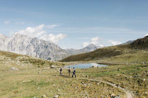 Insgesamt dauert der 52 Kilometer lange Arlberg Trail 18 Stunden. Daniel Zangerl/ Patrick Bätz