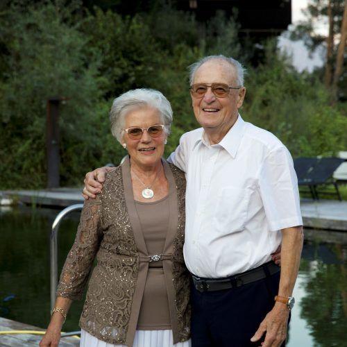 Irmtraud und Franz blicken auf 60 gemeinsame und erfüllte Jahre zurück.