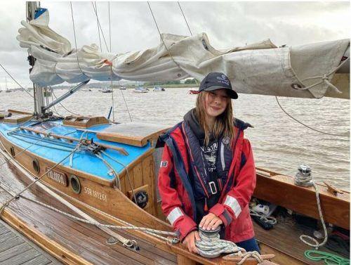 Katie McCabe will auch auf die Verschmutzung der Meere aufmerksam machen.