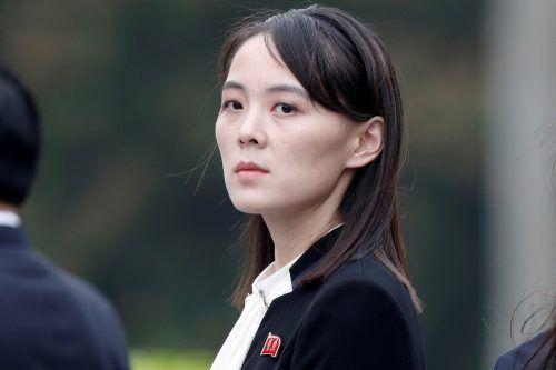 Kim Yo Jong ist die einflussreiche Schwester des Machthabers. reuters