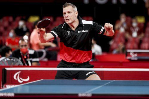 Krisztian Gardos freute sich zum Turnierstart über den ersten Sieg.GEPA