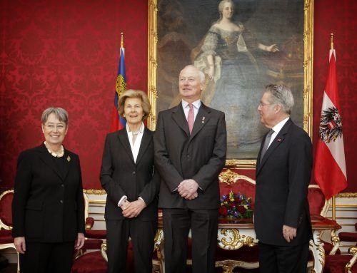 Liechtenstein trauert um seine Landesfürstin Marie. apa